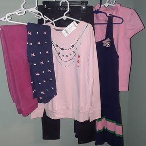 Girls SIZE 9/10 LOT Gymboree Gap Pants dress shirt